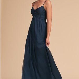 Navy Blue Bridesmaid Dress